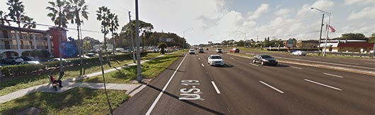 Pinellas County Florida Planning US Highway North Corridor - Map alt us 19 pinellas county