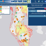 Find your evacuation zone