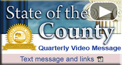 State of the County - Quarterlly Video Message