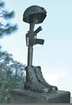 Local Heroes Honored-Battlefield Cross
