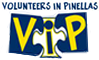 Volunteers in Pinellas (VIP) logo